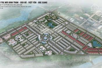 Đất nền KĐT Đình Trám Sen Hồ 75m2 vị trí kinh doanh tốt. Giá từ 700tr/lô