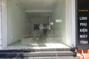 Cho thuê nhà mặt phố Lê Thanh Nghị, 80m2 x 3.5 tầng, 35tr/tháng