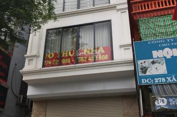 Cho thuê nhà ngõ Tạ Quang Bửu, 110m2 x 2 tầng, mặt tiền 5m, nhà mới, có thang máy. LH: 0974557067