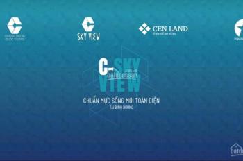 Nhận giữ chỗ penthouse - căn hộ C SkyView Bình Dương. Liên hệ 0931 259 100