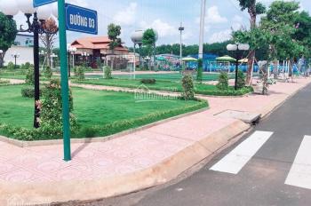 Bán lô đất 5x18m MT Nguyễn Thị Búp, Q12, Hiệp Thành City, CSHT hoàn thiện, giá 1tỷ8 /90m2. Sổ riêng
