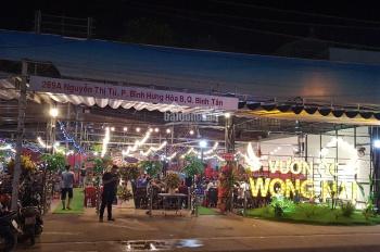 Cho thuê nhà MT 289A Nguyễn Thị Tú, Bình Tân. Ngay cây xăng Vĩnh Lộc 968m2, giá: 116tr