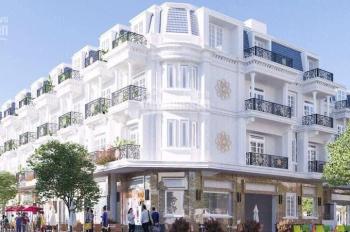 Bán nhà mới 100%, sổ hồng riêng, 1 trệt 2 lầu ngay mặt tiền đường số 5, trung tâm Dĩ An, Bình Dương