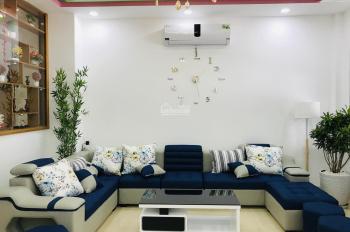 Bán nhà mới xây cực đẹp đường Miếu Bà, gần trường Hà Huy Tập, full nội thất xịn, 129m2