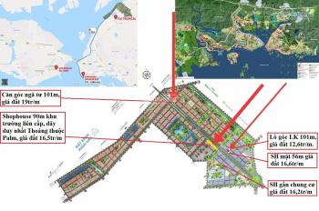 Căn góc mặt đường 56m giá đầu tư Tropical City Hạ Long. LH Ms Thảo 0969162476