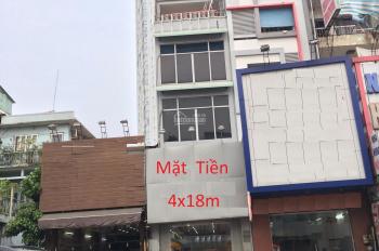 MT Nơ Trang Long 4x18m 1 trệt, 4 lầu, mặt bằng kinh doanh đa ngành