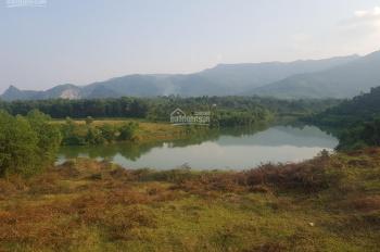 Cần bán 6400m2 đất ở mặt hồ có thể phân lô hoặc làm khu nghỉ dưỡng, tại xã Cư Yên, Lương Sơn