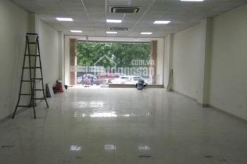 Cho thuê nhà mặt phố Trần Quốc Hoàn, Dịch Vọng, Cầu Giấy 100m2 * 7T, thông sàn, 60tr/th