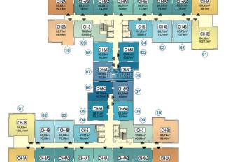 LH: 0964467711 tôi CC bán căn 09 tòa CT1B, chung cư Hà Nội Homeland, DT 78,28m2, giá 21,5tr/m2