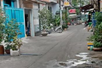 Bán nhà hẻm 5m thông đường Lạc Long Quân, P. 10, Q. 11, trệt 1 lầu, giá 6 tỷ