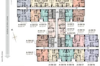 Mở bán đợt 1 La Partenza đợt 1 giá ưu đãi 26.5tr/m2 lãi suất 0%, chiết khấu 12% LH: 0906.2341.69
