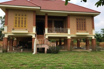 Bán DT 1.1ha biệt thự nhà vườn khuôn viên hoàn thiện, tại xã Yên Bài, H. Ba Vì, TP Hà Nội