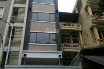 Chính chủ cho thuê nhà MP Nguyễn Khang, dt 55m2 X 6 tầng + 1 tum, mt 4m. Thang máy, thông sàn. 50tr