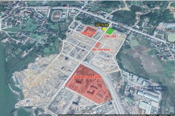 Bán đất dự án Bắc Sông Trới, huyện Hoành Bồ, Quảng Ninh, đã có sổ, LH 0937219218
