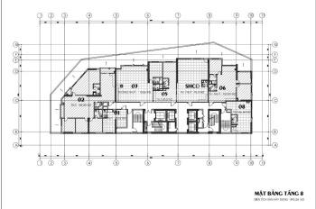 Chính chủ bán sàn văn phòng tầng 8 quận Cầu Giấy, diện tích 110m2, view CV, kinh doanh tốt