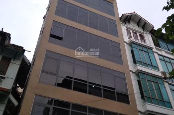 Cho thuê nhà mặt phố Nguyễn Khang 108m2 * 8T có hầm, nhà mới tinh vừa xây