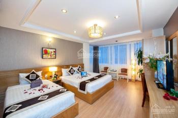 Cho thuê khách sạn 3 sao mặt tiền Bạch Đằng Tân Bình 15x20m hầm 7 lầu full nội thất. Giá 750 triệu