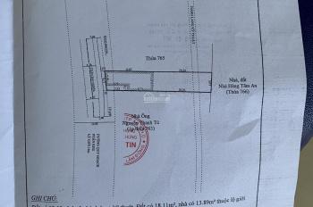 Cần bán 247m2 đất mặt tiền đường Trần Đại Nghĩa lh 0911610087