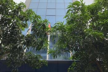 Cho thuê nhà mặt phố Nguyễn Ngọc Vũ, Cầu Giấy. DT 100m2, 6 tầng, MT 6m, thông sàn. Giá 85tr/th