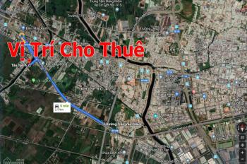 Trí BĐS, cho thuê 5.000m2 kho bãi đường Kênh C, p. Tân Tạo A, gần Trần Văn Giàu, không cấm tải