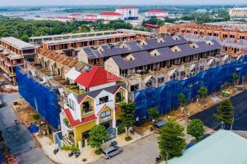 Nhà phố 1 trệt 3 lầu mặt tiền Nguyễn Văn Cừ trung tâm hành chính Bà Rịa 3.6 tỷ 1 căn LH 0988067062