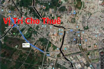 Trí BĐS, cho thuê 2.500m2 kho xưởng đường Kênh C, p. Tân Tạo A, gần Trần Văn Giàu, không cấm tải