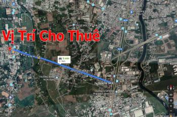 Trí BĐS, cho thuê 2.500m2 kho xưởng đẹp Bông Văn Dĩa, Tân Kiên Bình Chánh, gần Nguyễn Cửu Phú