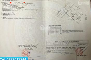 Kẹt tiền: Chính chủ cần bán đất TTH 07, Phường Tân Thới Hiệp, Quận 12, 4.9x19.04m, LH: 0937013244