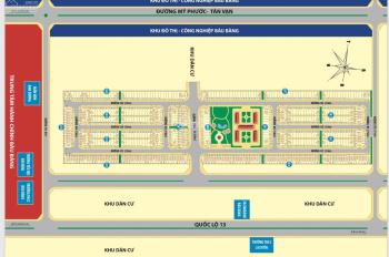 Dự án Golden Future City Bàu Bàng Bình Dương, đất nền giá rẻ chỉ 567 triệu/nền, vị trí đẹp giá rẻ