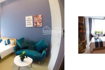 Cho thuê căn studio River Gate full nội thất giá chỉ 13.5 triệu bao phí quản lý LH 0906729193 Bình