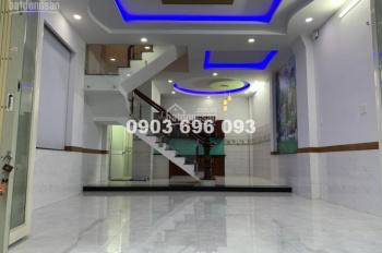 Chủ nhà kẹt tiền cần bán gấp nhà mới đẹp rớt giá 300 triệu, nhà đúc 4 tấm DT 5.3 x 11m 0903777392