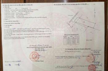 Xuất cảnh sang Mỹ cần bán gắp lô đất 10m x 33m vuông vức dtcn 300m2 tại xãTrung Chánh Hóc Môn