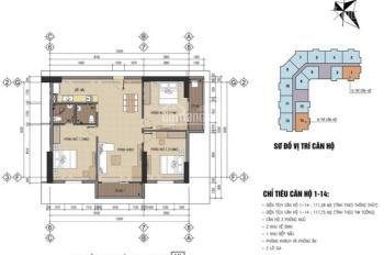 Chính chủ cần bán ngay căn hộ tầng 15 thuộc chung cư CT1 - nhà ở cán bộ chiến sĩ B32 - Đại Mỗ