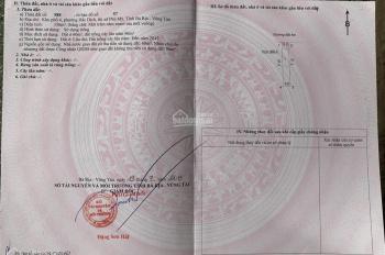 Bán đất thổ cư 155m2, KP 4, phường Hắc Dịch, thị xã Phú Mỹ, T. Bà Rịa - Vũng Tàu. Giá 850 triệu