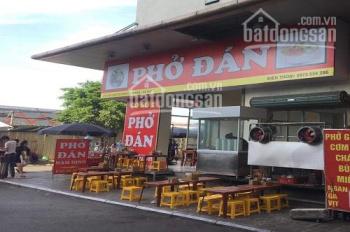 Sang nhượng quán ăn lô góc 2 mặt tiền tại ngã tư Hoàng Quốc Việt. DT 150m2