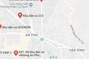 Bán đất, An Phú đất nền Thuận An, chỉ 1 tỷ 6, 68m2, mặt tiền đường DT743