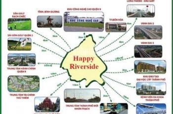 Mở bán 50 nền block A, khu DC Happy Riverside, Nguyễn Xiển, Q9, giá 2.2 tỷ nền 100m2, 0903.616491
