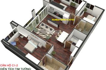 Bán căn 135m2 Golden Land đã nội thất - Giá 26 triệu/m2 - thiết kế đẹp. LH 0918.11.4743