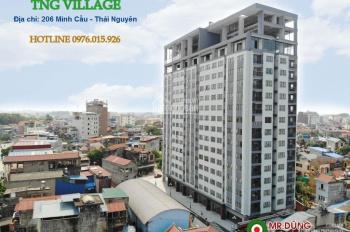 Chung cư TNG Village Minh Cầu - Thái Nguyên chỉ từ 495 triệu/căn - Nhận nhà ngay đón Tết