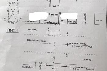 Chính chủ Bán nhà mặt tiền 4,1m phường Đakao quận 1, DT 90m2, nở hậu tiện kinh doanh. lh 0903732682