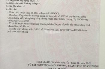 Bán lô góc đất biệt thự KDC Ấp 5, Phong Phú, Bình Chánh, SHR, giá tốt, 163m2, 0357883789