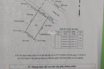 Cần bán lô đất sổ riêng, đường 7m, DT 56.9m2, hẻm 226 đường 8 Linh Xuân Thủ Đức. Call 0906870919