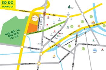 Bán 15 lô đất KDC Tên Lửa Hai Thành, Bình Tân đường vào 20m giá 18tr/m2. LH 0933125290