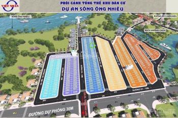 Việt Nhân đường 1, bán lô đất sạch đẹp, đường 12m, giá 2.45 tỷ, LH: 0901440349