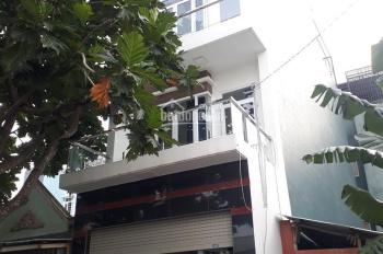 Nhà 4x16m, 1 trệt 3 lầu sẹc Bà Điểm 4, đường nhựa 12m thông gần trường TH Bùi Văn Ngữ, chợ Bà Điểm