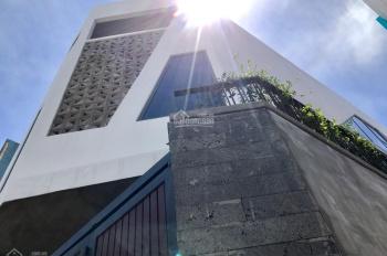 Bán nhà 3 tầng mới xây 2 mặt tiền hẻm xe hơi đường Phan Văn Trị, 78m2 giá 8.2 tỷ