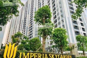 Bán căn hộ A10.17 2PN 2WC,82m2 dự án Imperia Sky Garden view Times City Giá 3.35 tỷ LH 0977 565 345