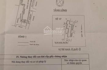 Bán nhà - / Bà Hom phường 13 quận 6