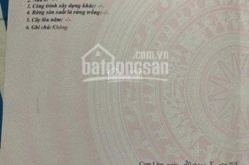 Chính chủ bán gấp lô đất đường Hàm Nghi - Bao Công Chứng  - thị trấn Cam Đức - Cam Lâm - Khánh Hòa