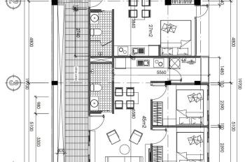 Cho thuê tòa có 17 căn hộ, làm CHDV Thảo Điền, Quận 2